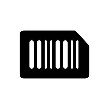 Barcode icon Illusztráció