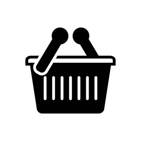Shopping basket icon Stockfoto - 133565234
