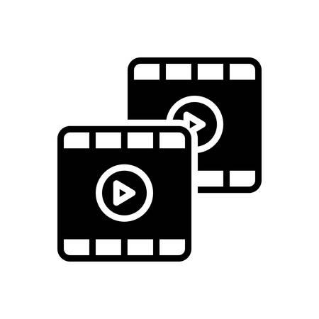 Video icon Ilustração