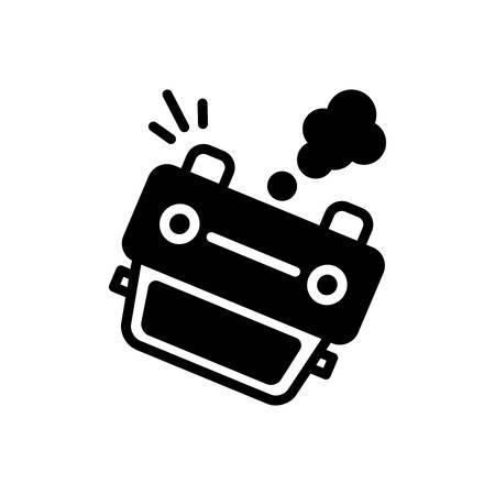 Accident icon Ilustracja