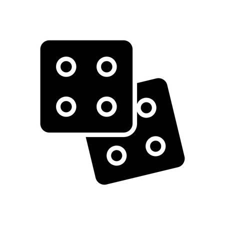 Poker icon Stock Illustratie