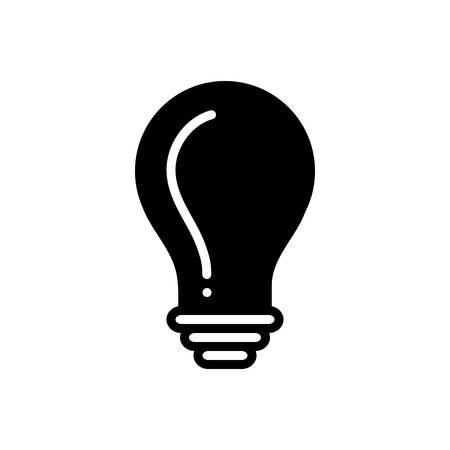 Bulb icon Ilustracja