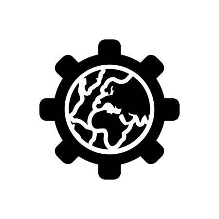 Globalization icon Ilustracja
