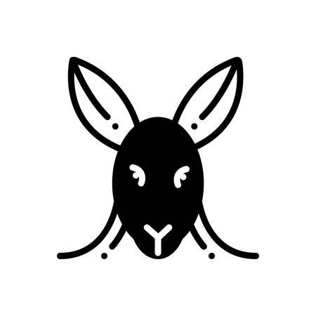 Icon for kangaroo ,animal