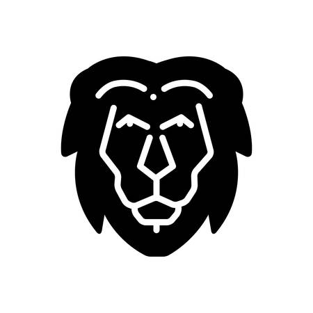 Icon for lion, face