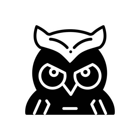 Icon for owl ,education