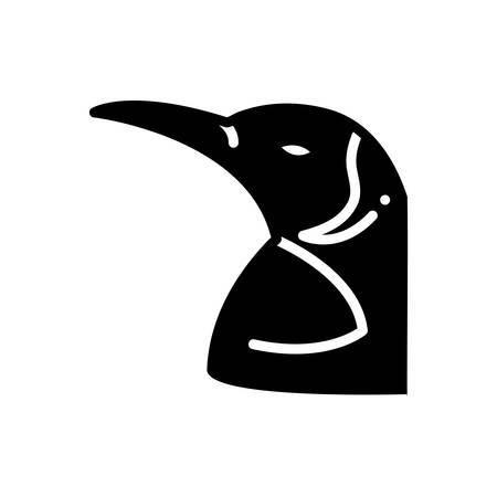 Icon for penguin, bird Ilustracja
