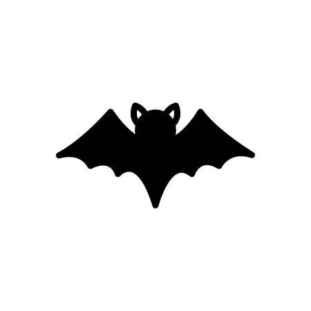 Icon for bat ,flying Ilustracja
