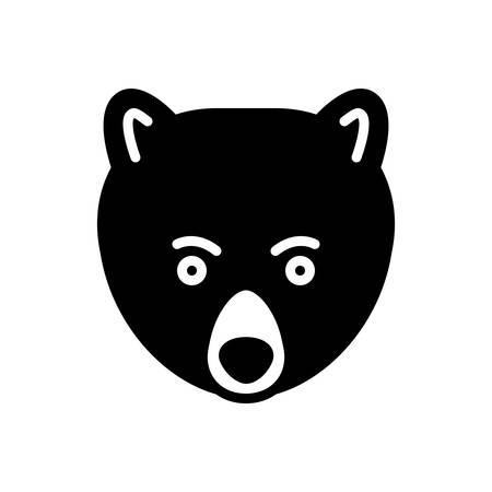 Icon for bear, animal
