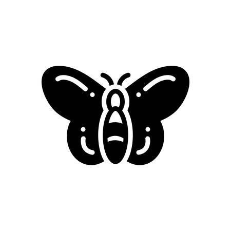 Icon for butterfly , dragonfly Ilustração