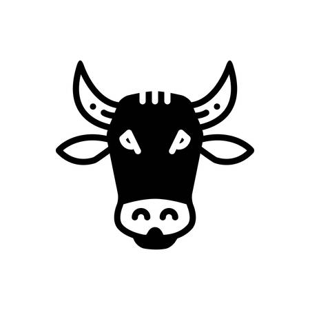 Icon for cow, face