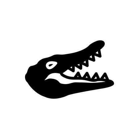Icon for crocodile, alligator