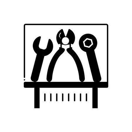 Tools exhibit  icon