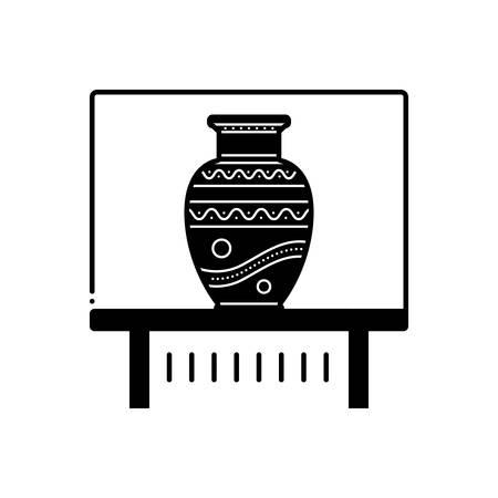 Vase exhibit icon