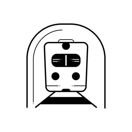 Subway icon Ilustracja