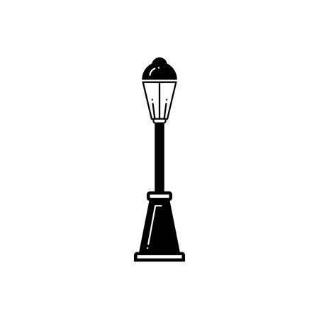 Street lamp icon