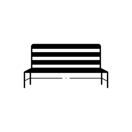 Metal bench icon