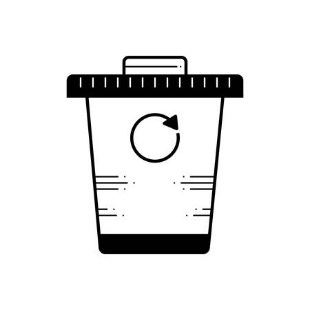 Recycle bin icon Çizim