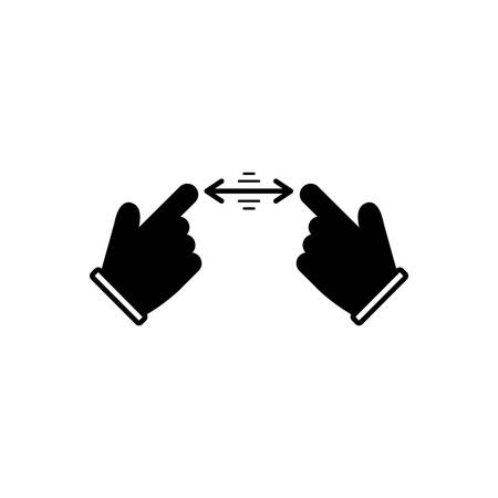 Indication sign icon
