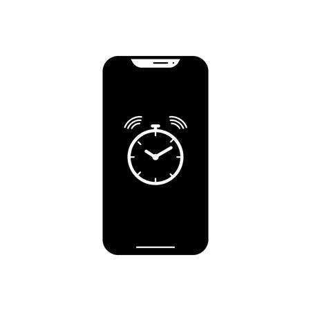 Alarm app icon  イラスト・ベクター素材