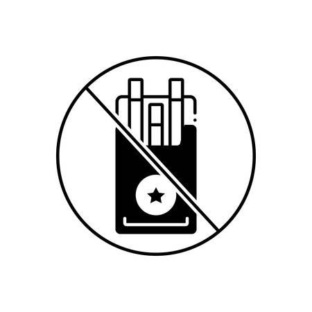Tobacco icon Ilustrace