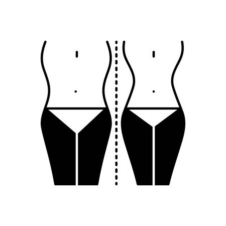 Diet control icon 向量圖像
