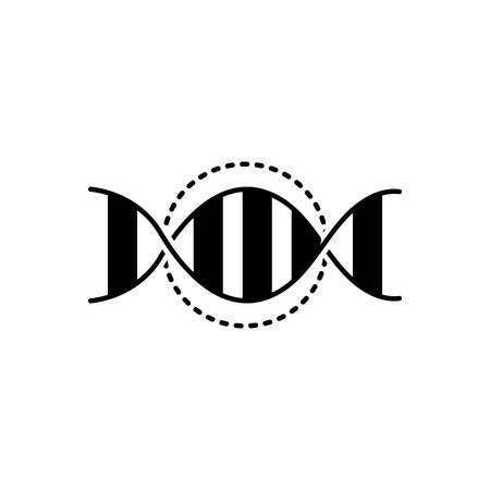 Dna genetic icon