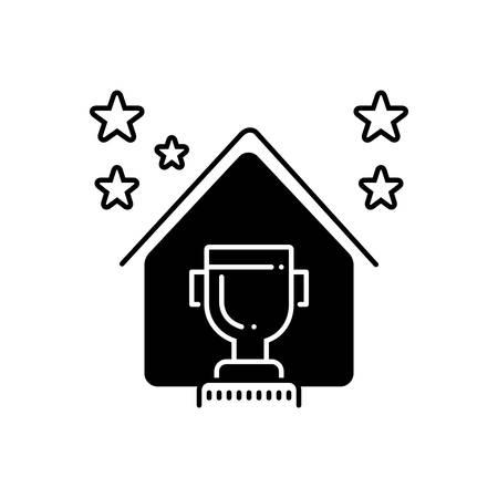 Real estate award icon