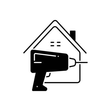 Home repair icon 向量圖像