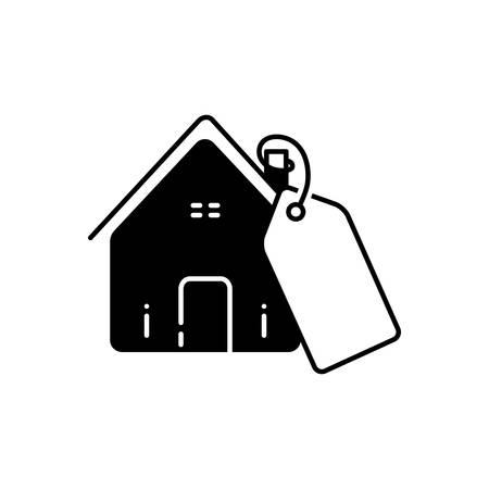 Mortgage price icon Ilustração