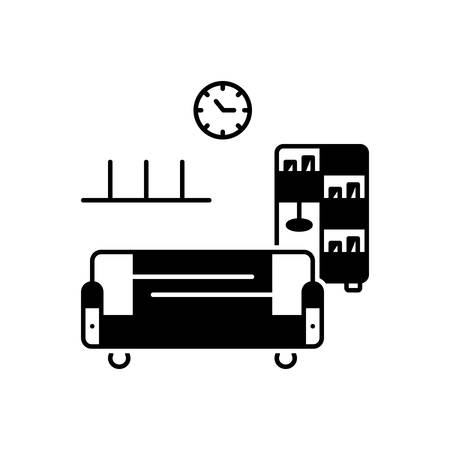 Home furniture icon 向量圖像