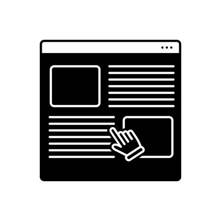 Icon for user, survey