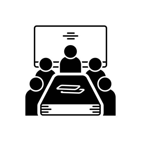 Icon for meeting, conference