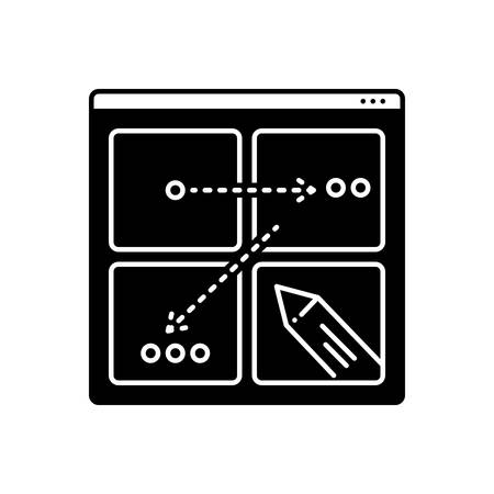 Icon for storyboard ,story
