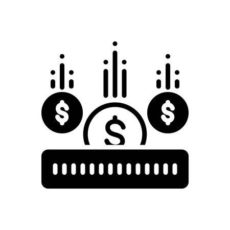 Investment icon Stock Illustratie