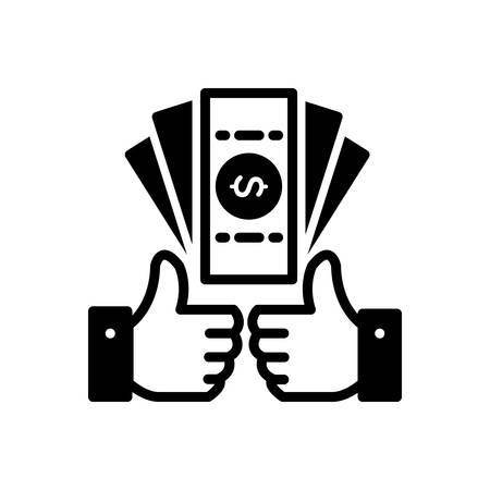 Icon for benefits, profit