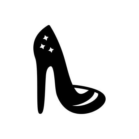 Icon for heels ,shoes Stock Illustratie