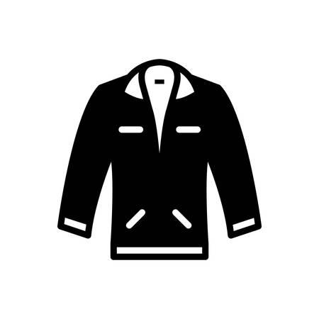Icon for jacket  ,coating