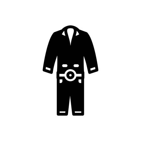 Icon for overalls , workwear