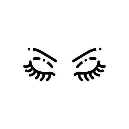 Icon for brow,eyebrow Ilustração