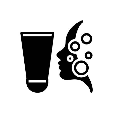 Icon for exfoliating,scrub