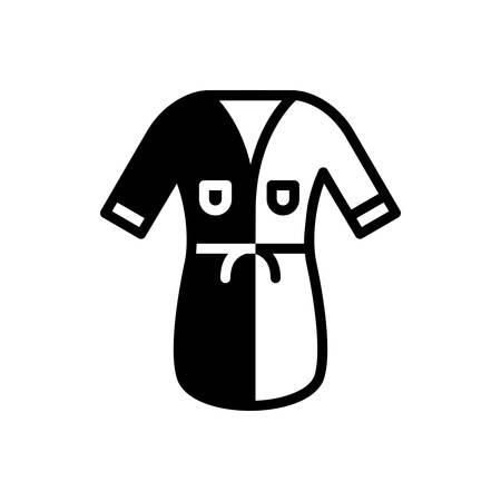 Icon for bathrobe,clothes