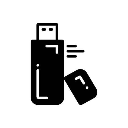 Icon for flash,drive Иллюстрация