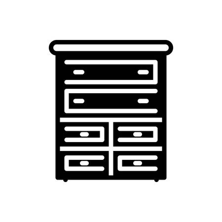 Icon for chest,drawers