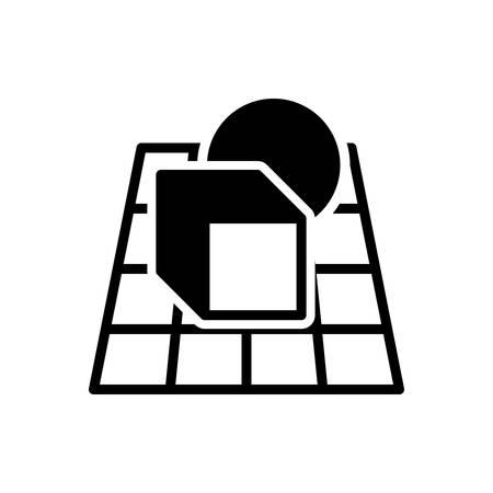 Icon for alpha,blending 일러스트