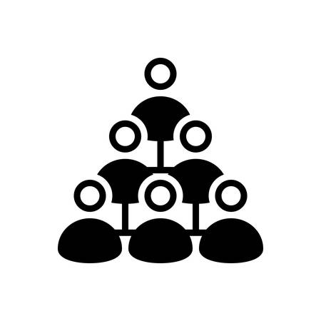 Icon for marketing, management Illustration