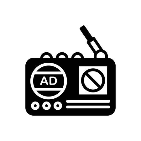 Icon for radio,advertising