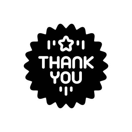 Icon for thankyou ,gratitude Illusztráció