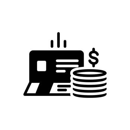 Icon for bankbook,account 向量圖像