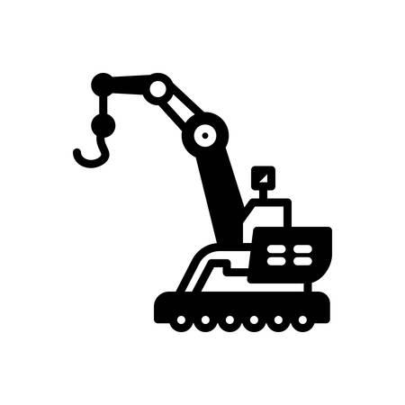 Icon for Crane,construction Stok Fotoğraf - 135793033